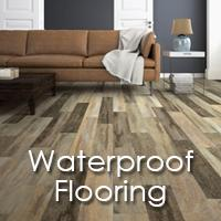 If you are looking for great-looking waterproof flooring at a great price, you have come to the right place! We stock a wide variety of waterproof flooring types with samples in our local showroom.