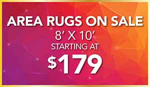 8' x 10' Area Rugs starting at $179 during our Gold Tag Flooring Sale at Abbey Carpet of Hawthorne