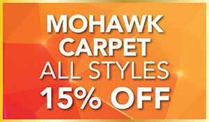 15% off all Mohawk SmartStrand & SmartStrand Silk Carpet during our Gold Tag flooring sale at Abbey Carpet of Hawthorne