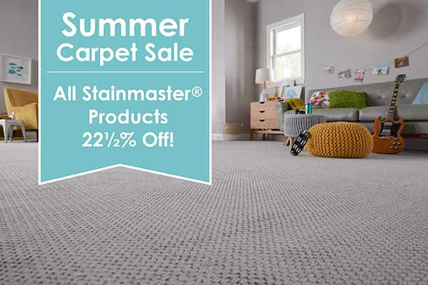 All Stainmaster® products 22 1/2 % OFF this month at Oasis Floors in Lake Havasu!