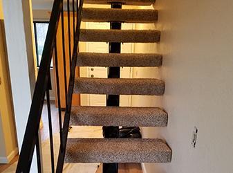Carpet installations project by Arcata ProFloor Abbey Design Center in Arcata, California