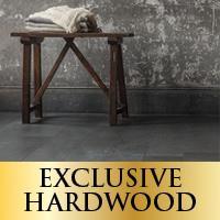 Exclusive hardwood on sale