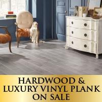 Hardwood & LVP on sale