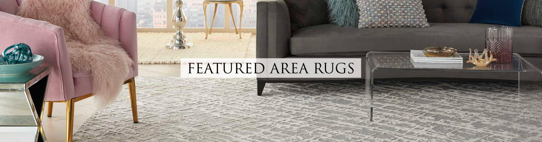 Adding an area rug to a room is a great way give that room a new look, provide warmth and add color. Find a rug that you love and use it as inspiration to decorate the space around it. Area rugs are easy to move from room to room. You can put rugs in different rooms of your home to create fresh looks.