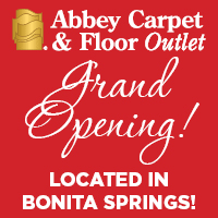 Grand opening sale at Abbey Carpet & Floor Outlet in Bonita Springs!