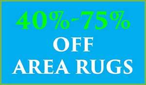 Save up to 75% off area rugs during our spring fling flooring sale at Abbey Carpet in Naples