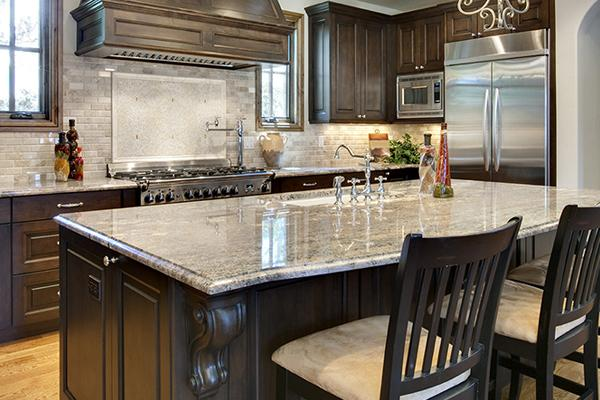 Simmons Floor Covering an Abbey Design Center offers a complete line of granite countertops.