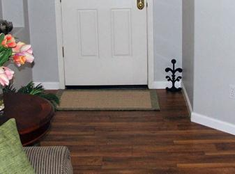 Hardwood flooring and painting project by Spencer Flooring & Paint