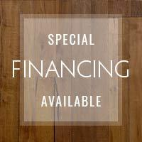 Special financing available - see store for details!